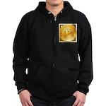 Bitcoins-3 Zip Hoodie (dark)