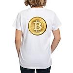 Bitcoins-5 Women's V-Neck T-Shirt