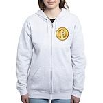 Bitcoins-5 Women's Zip Hoodie