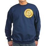 Bitcoins-5 Sweatshirt (dark)
