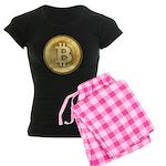 Bitcoins-5 Women's Dark Pajamas