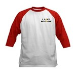 Bitcoins-2 Kids Baseball Jersey