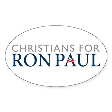 Ron Paul for President Sticker (Oval)