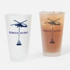 Helicopter Slingload Pint Glass