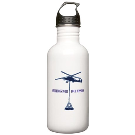 Helicopter Slingload Stainless Water Bottle 1.0L