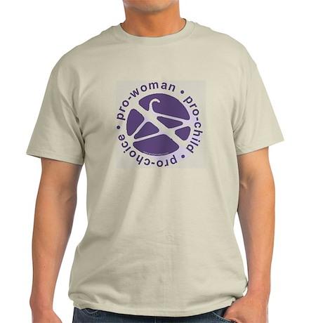 Pro-Woman, Pro-Child, Pro-Choice Light T-Shirt