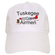 Tuskegee Airmen P-51 Red Tail Baseball Cap