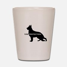 K9. Use Protection Shot Glass
