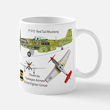 Tuskegee Airmen P-51 Mustang Mug