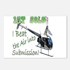 1st Helicopter Solo Postcards (Package of 8)
