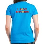 Bitcoins-4 Women's Dark T-Shirt