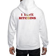 Bitcoins-4 Hoodie