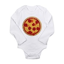 Cute Round table Long Sleeve Infant Bodysuit