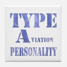 Type A(viation) Personality Tile Coaster