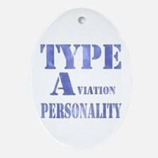 Type A(viation) Personality Ornament (Oval)
