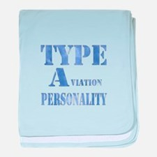 Type A(viation) Personality baby blanket