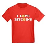 Bitcoins-6 Kids Dark T-Shirt