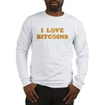Bitcoins-6 Long Sleeve T-Shirt