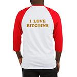 Bitcoins-6 Baseball Jersey