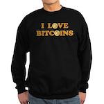 Bitcoins-6 Sweatshirt (dark)