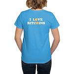 Bitcoins-6 Women's Dark T-Shirt