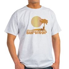 Vintage Survivor Sunset T-Shirt