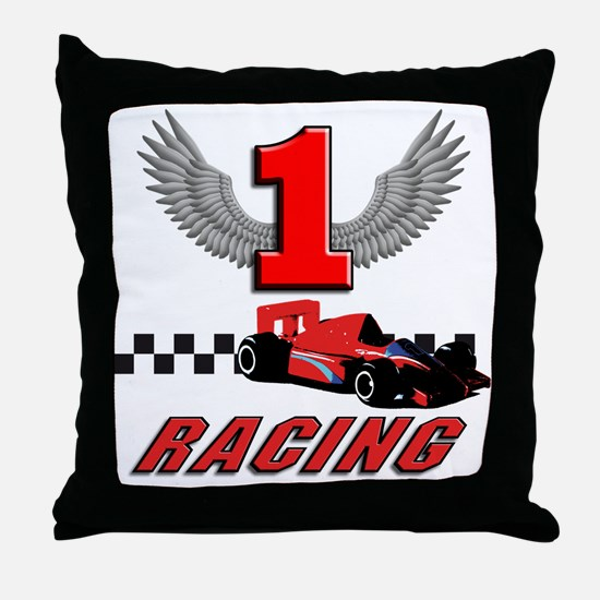 Unique Formula one Throw Pillow