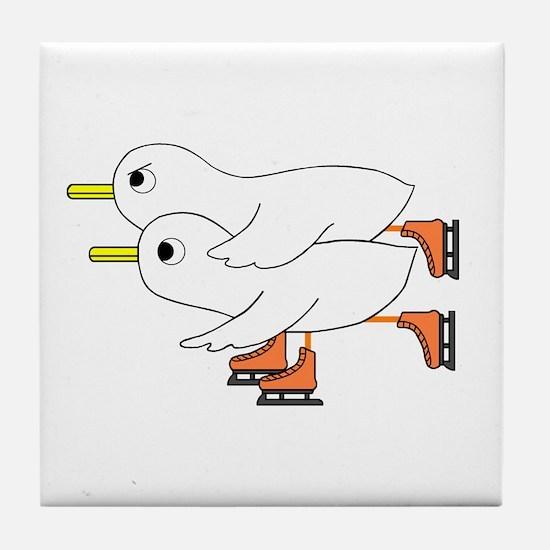Figure Skating Tile Coaster