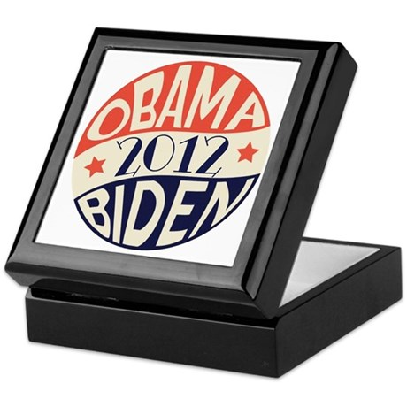 Vintage Obama Biden Keepsake Box