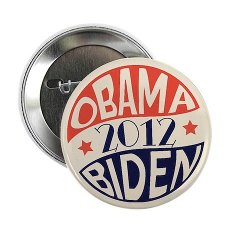 """Vintage Obama Biden 2.25"""" Button (100 pack)"""