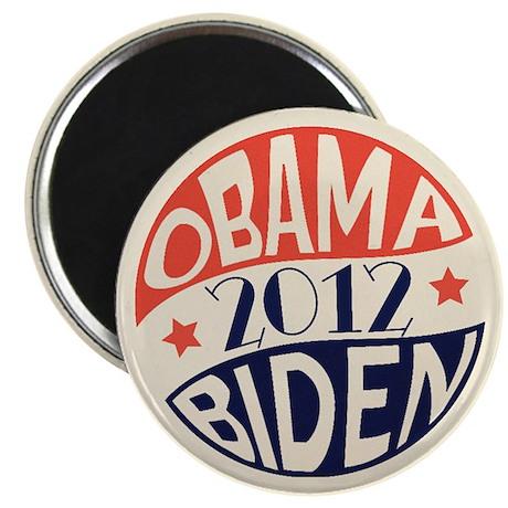 """Vintage Obama Biden 2.25"""" Magnet (10 pack)"""