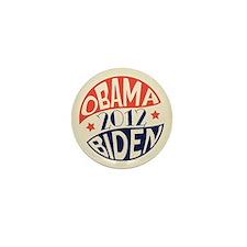 Vintage Obama Biden Mini Button