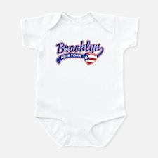 Brooklyn Puerto Rican Infant Bodysuit