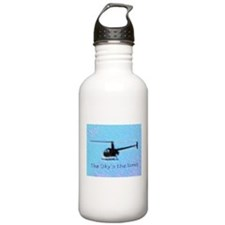 Cute Sky military Water Bottle