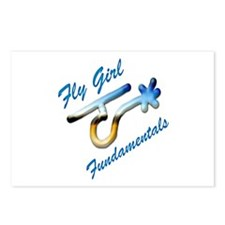 Fly Girl Fundamentals Postcards (Package of 8)