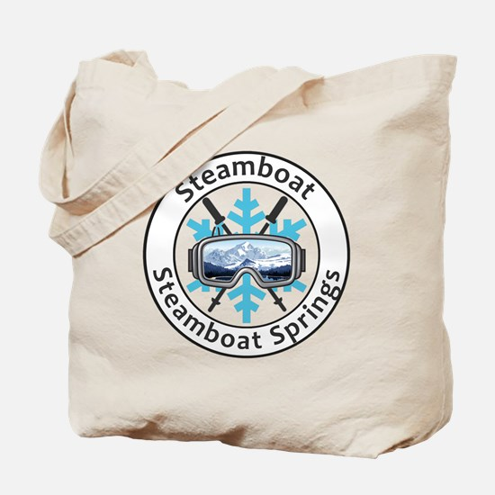 Unique Steamboat springs Tote Bag