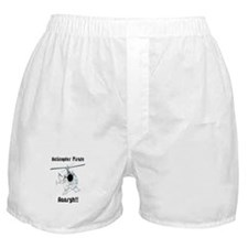 Helicopter Pirate Pilot Boxer Shorts
