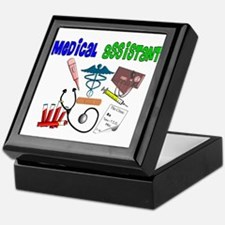 Medical Assistant Keepsake Box