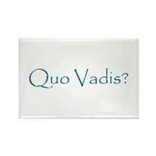 Quo Vadis? Rectangle Magnet (10 pack)