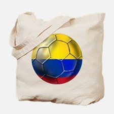Colombian Soccer Futbol Tote Bag