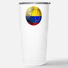 Colombian Soccer Futbol Stainless Steel Travel Mug