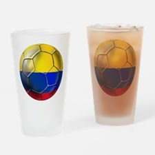 Colombian Soccer Futbol Drinking Glass