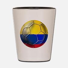 Colombian Soccer Futbol Shot Glass