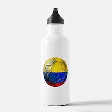 Colombian Soccer Futbol Water Bottle