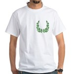 Order of the Laurel Small Motif White T-Shirt