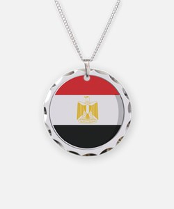 Cool Egyptian flag designs Necklace
