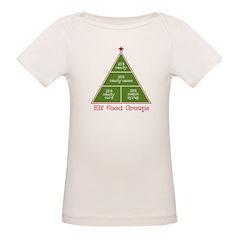 Elf Food Groups Tee