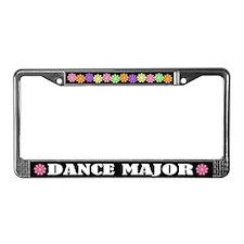 Dance Major License Frame