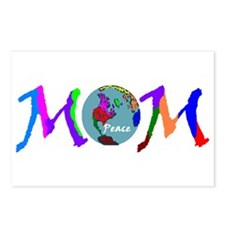 PEACE ON EARTH MOM Postcards (Package of 8)