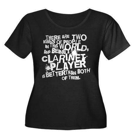 Clarinet (Funny) Gift Women's Plus Size Scoop Neck